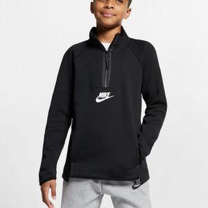 Nike | Boy's Tech Fleece Half-Zip Crew (sz XL)